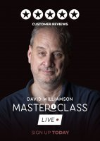 David Williamson Vanishing Inc Masterclass: Live Week 3